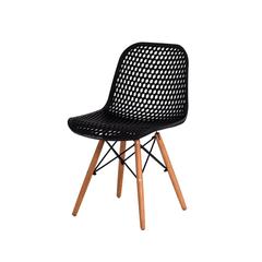 Cadeira Colmeia Eloisa Preta