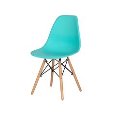 Cadeira Charles Eames Eiffel Tiffany Base Madeira
